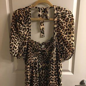 Asos cheetah maxi 18
